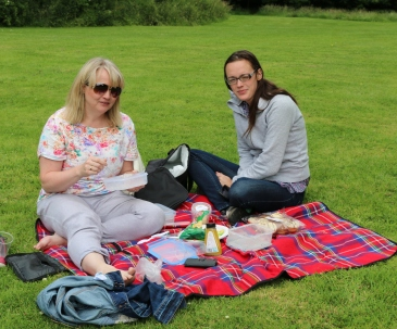 Belfast Rose Week picnic