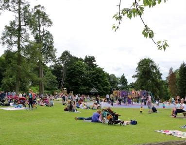 Belfast Rose Week playground