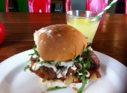 caesar burger rocket relish lisburn road belfast