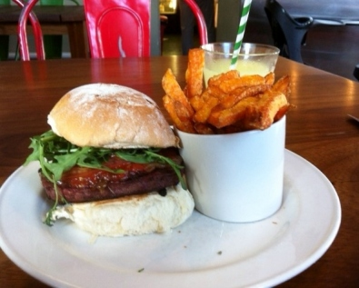 salsa burger rocket relish lisburn road belfast